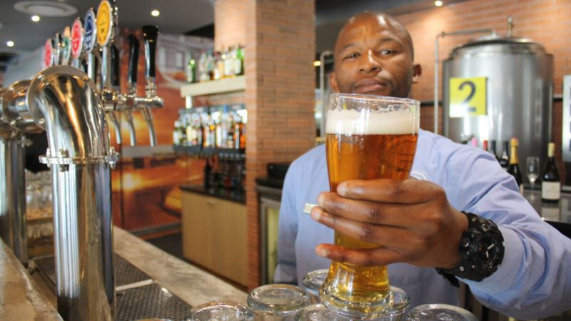 Lift Off for Africa's First Airport Brewery