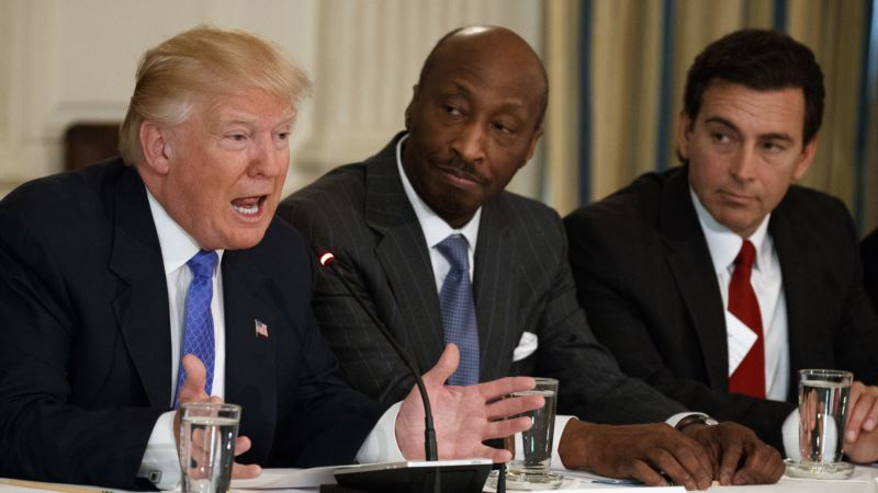Trump Calls Corporate Chiefs Who Quit His Manufacturing Council 'Grandstanders'
