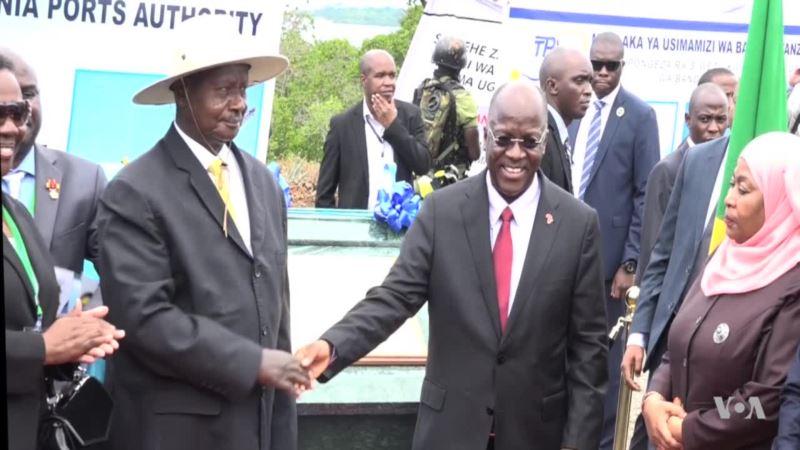 Tanzania, Uganda Launch Oil Pipeline Construction Project