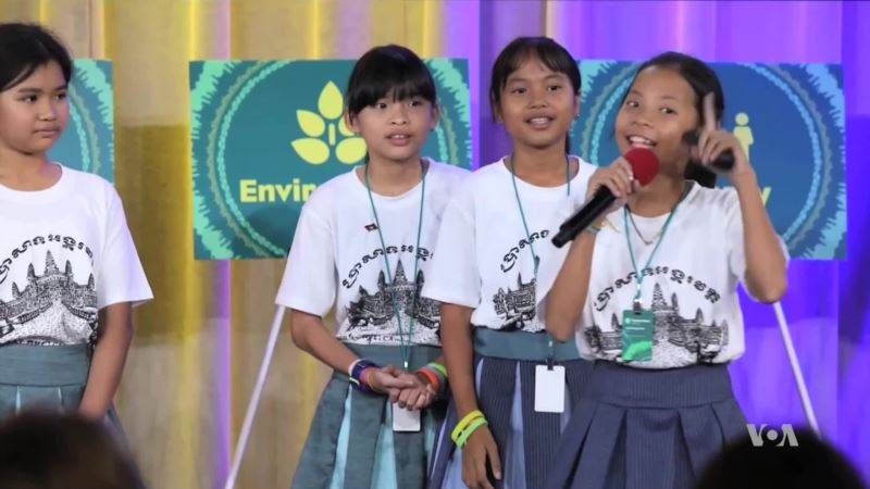 Cambodian Girl Coders Push Frontiers for Women in Tech