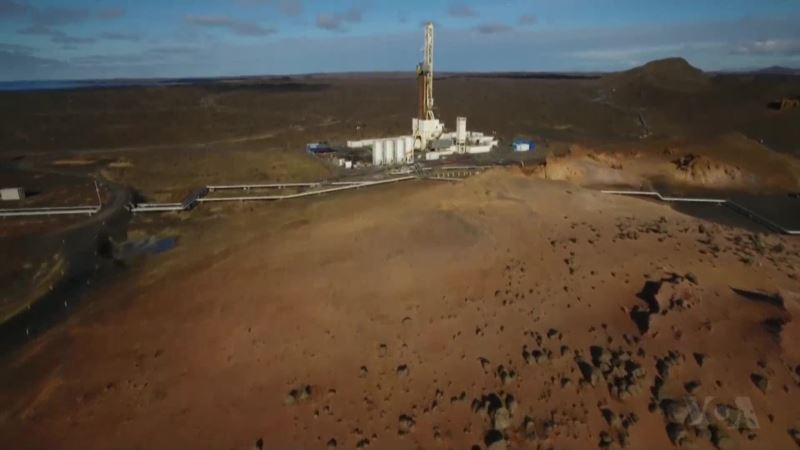 Iceland Experiments with Volcanic Energy