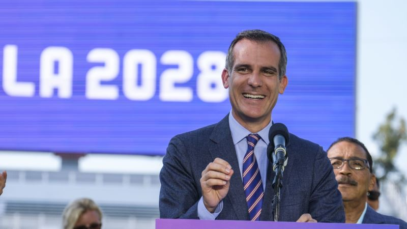 Garcetti: LA to Benefit from Having More Time to Prepare for Olympic Games