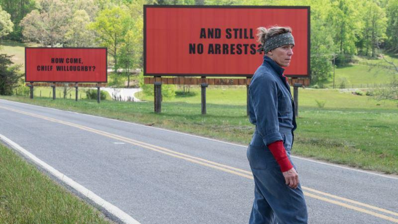 McDonaugh's 'Three Billboards' Wins TIFF Audience Award