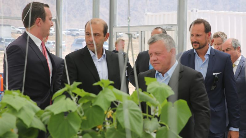 Dry Jordan Launches Project to Grow Crops From Seawater