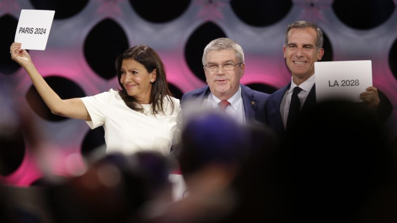 Olympic Double: IOC Says Yes to Paris in 24, and LA for 28