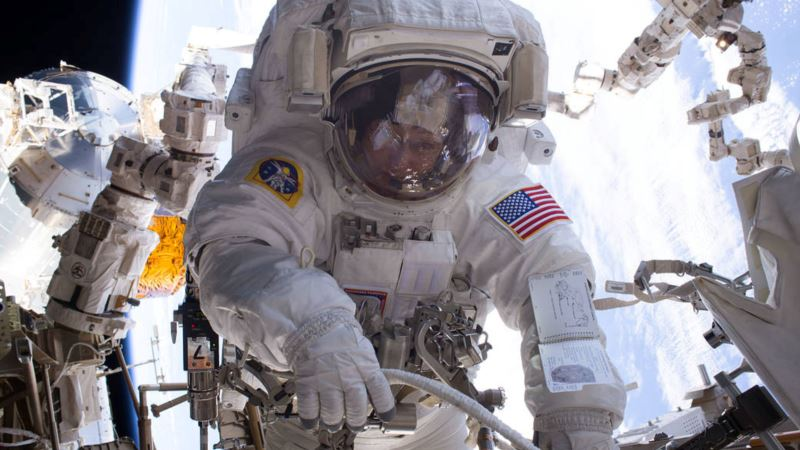 US Astronaut to Return to Earth Holding US Record for Days in Space