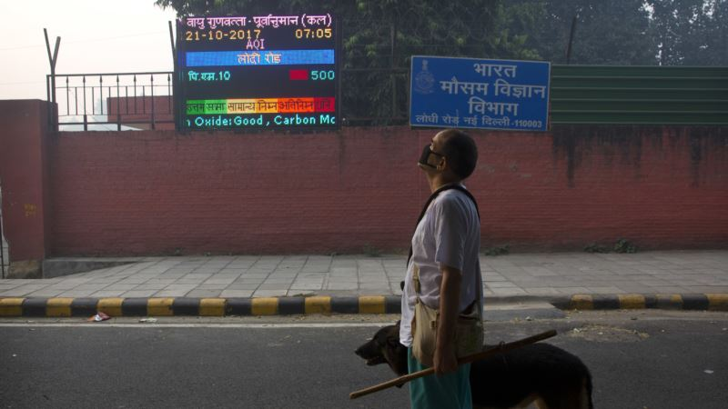India's Air Pollution 18 Times the Healthy Limit