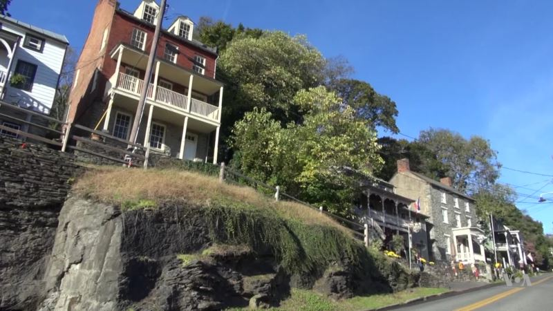 Ghostly Things Are Happening in Harpers Ferry, West Virginia
