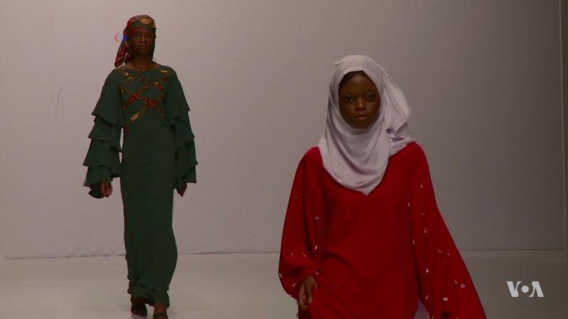 Lagos Fashion Week Features Plunging Necklines, Conservative Wear