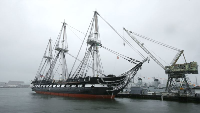 Ahoy! 'Old Ironsides,' World's Oldest Warship, Sailing again