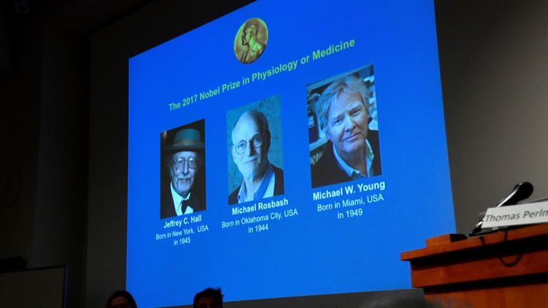 3 American Scientists are 2017 Nobel Laureate for Physiology