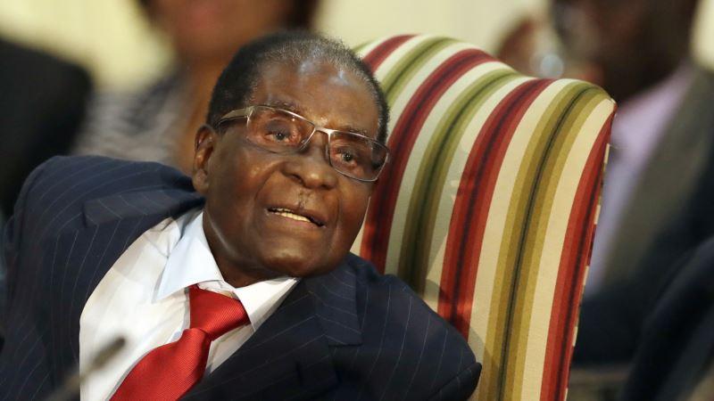 Mugabe Removed as WHO Goodwill Ambassador
