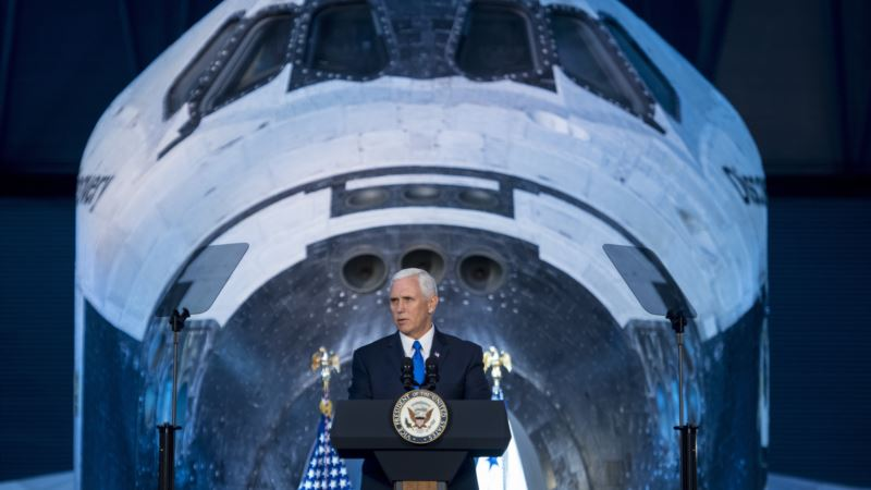 Pence Pledges that US Will Go to Moon, Mars and Beyond