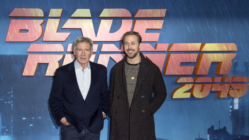 A Minute With: Harrison Ford, Ryan Gosling on 'Blade Runner 2049'