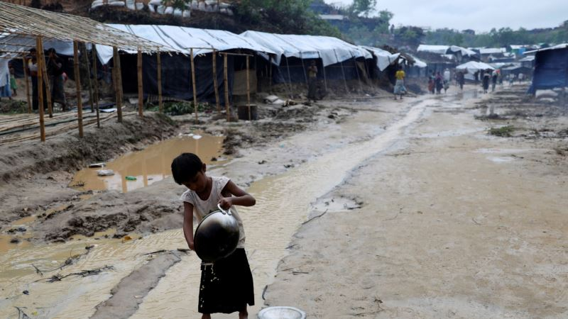Oral Cholera Vaccination Campaign for Rohingya Refugees Begins