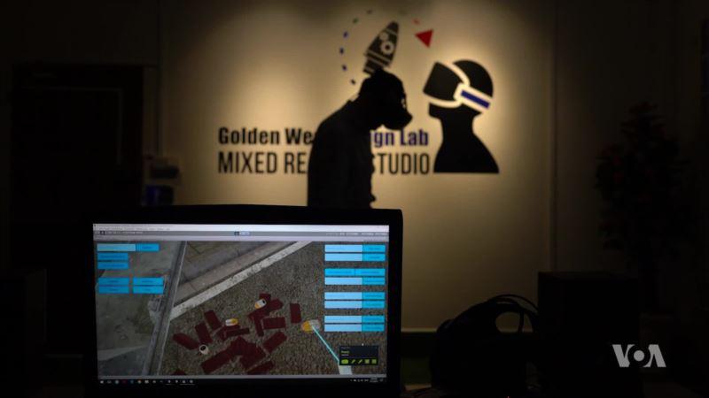 Cambodian Virtual Reality Helps Train Bomb-disposal Techs