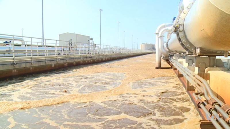 World's Largest Advanced Water Treatment Plant at Work in DC