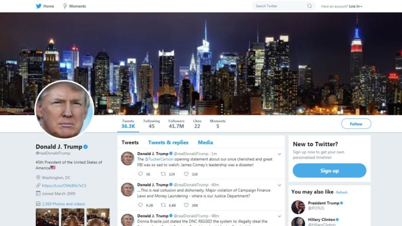 Twitter Employee 'Inadvertently' Deactivates Trump Account