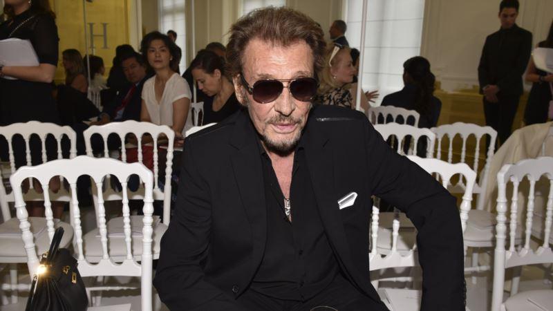 Media: 'French Elvis' Johnny Hallyday Hospitalized