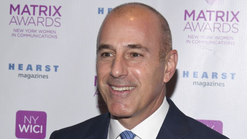 NBC News Fires Lauer Over Inappropriate Sexual Behavior