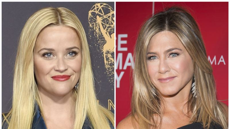 Apple Orders Witherspoon, Aniston Drama in TV Push