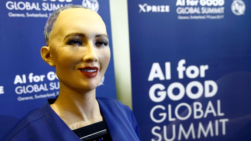 Saudi Women Riled by Robot With No Hjiab, More Rights Than Them