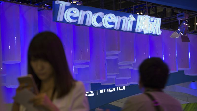 Video Games Could Be Next for Snapchat, China's Tencent Says