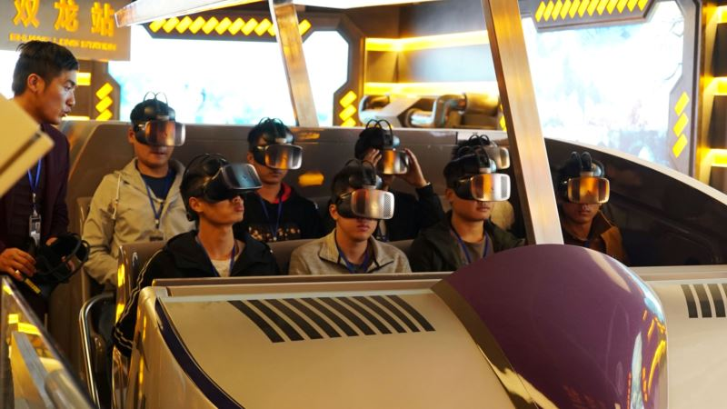 Chinese Theme Park Seeks to Ride Boom in Demand for Virtual Entertainment