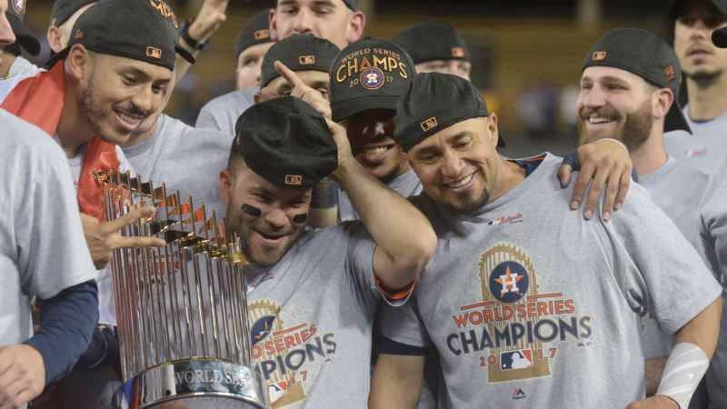 Astros Win First World Series for Hurricane-weary Houston