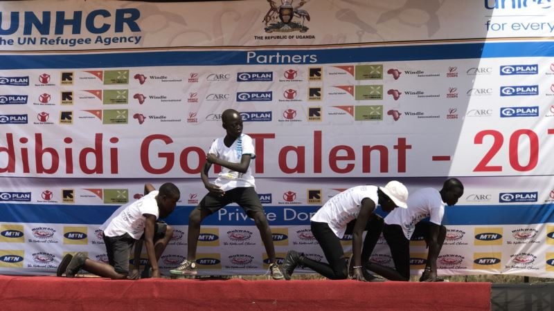 South Sudan Refugees Stage Talent Show