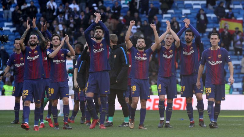 Amid Political Tensions, Visiting Barcelona Bests Real Madrid