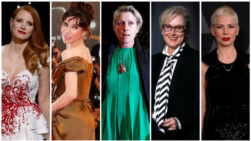 Fantasy Romance 'Shape of Water' Leads 2018 Golden Globe Nods
