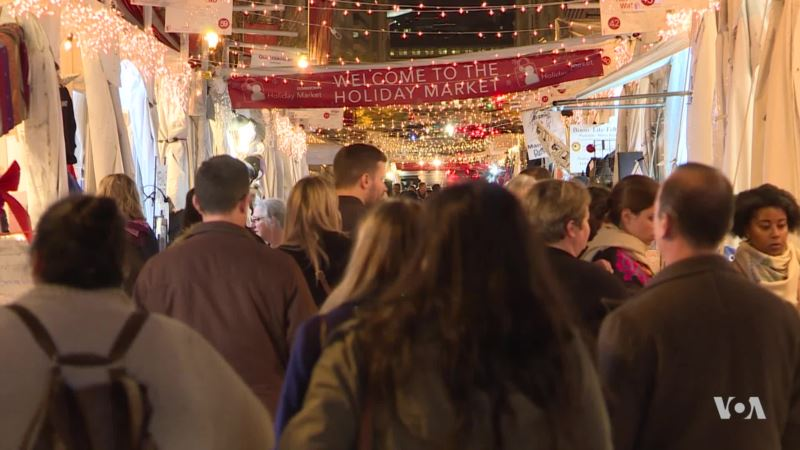 Washington's Annual Downtown Holiday Market Is Open for Business