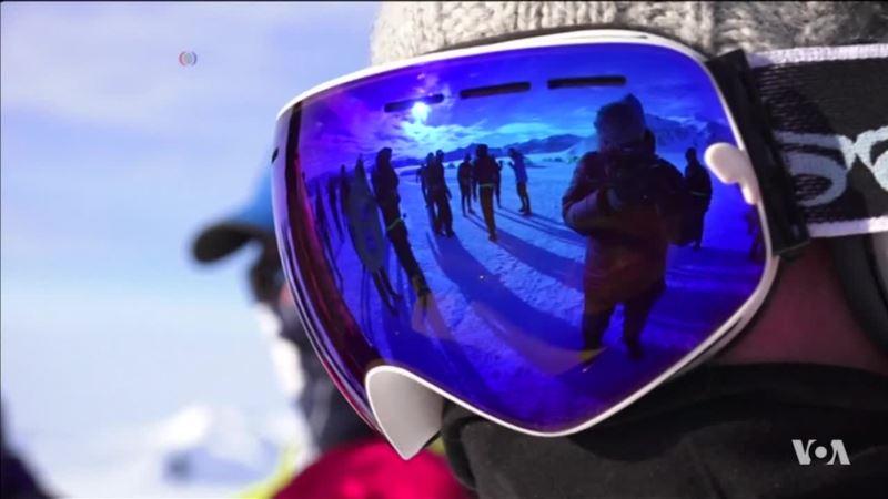 Dozens of Runners Compete in Antarctica's Only Marathon