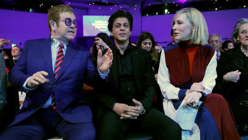 Cate Blanchett, Elton John, Shah Rukh Khan Receive Davos Human Rights Awards