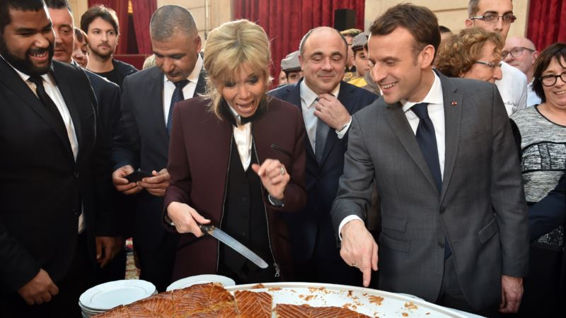Brigitte Biography Says Young Macron Wrote Steamy Book About Their Romance
