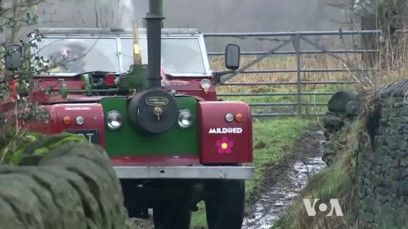 Enthusiast Builds a Steam-powered SUV