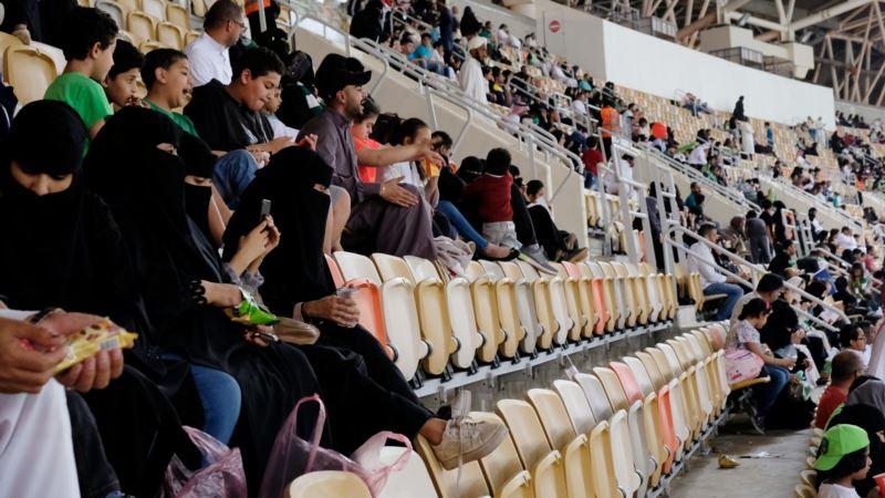 First Saudi Stadium Opens to Women to Watch Soccer