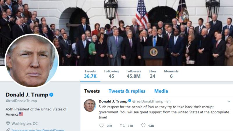 Twitter Says Accounts of World Leaders Have Special Status