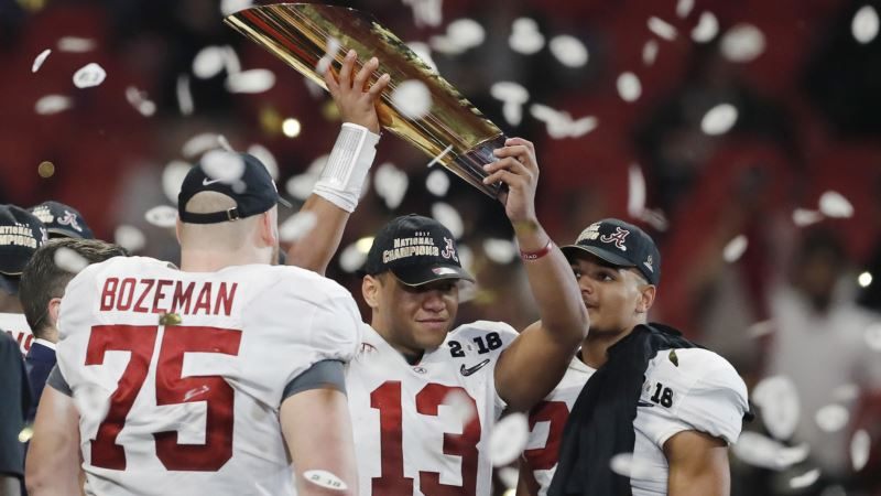 Alabama Wins NCAA Football Championship