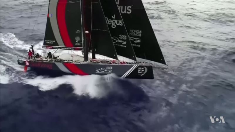 Highlights From Volvo Ocean Race as Teams Approach Hong Kong