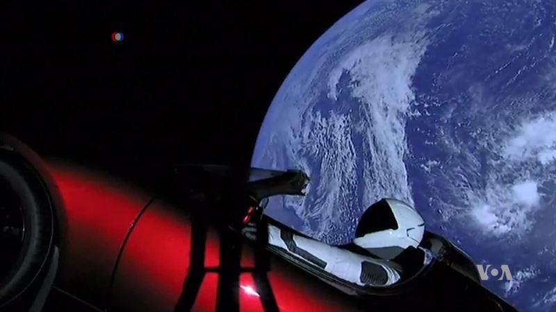 Tesla's Roadster Takes Flight, Enters Orbit