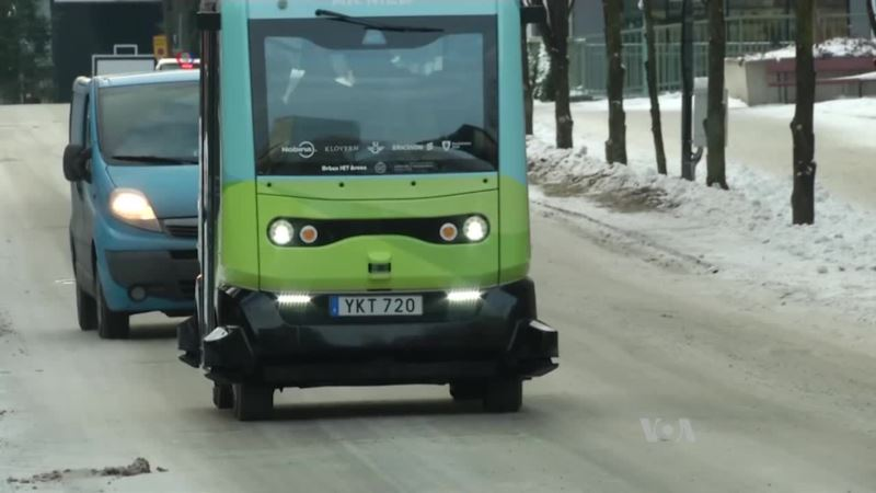 Driverless Bus Gets a Tryout in Sweden