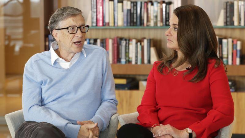 Bill and Melinda Gates Talk Trump, Taxes