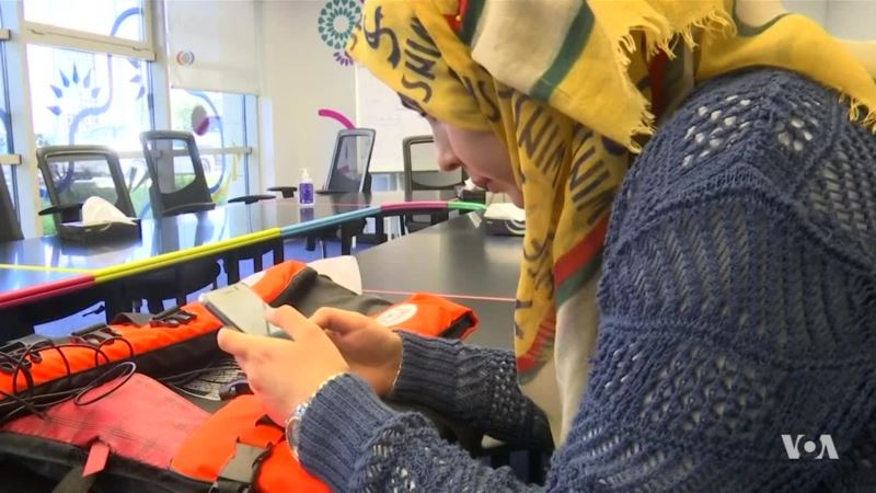Young Syrian Refugee Invents Life-Saving Life-Jacket