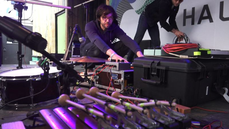 German Band Works in Concert With 'Robotic' Instruments to Create Music Mix