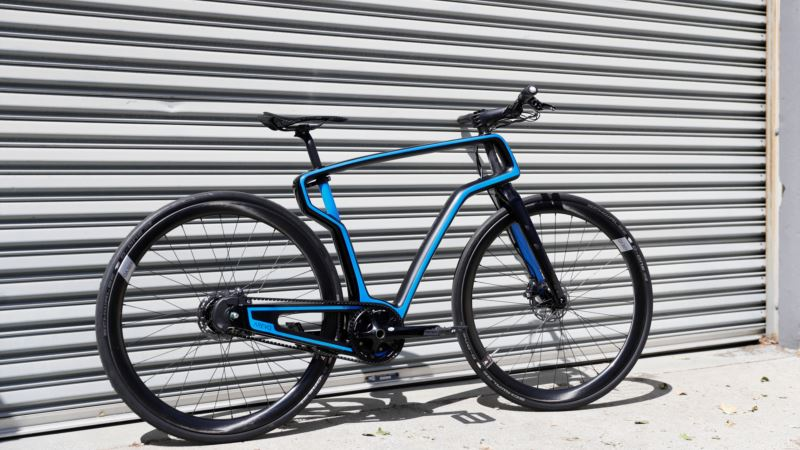 Silicon Valley Startup Peddles 3-D-printed Bike