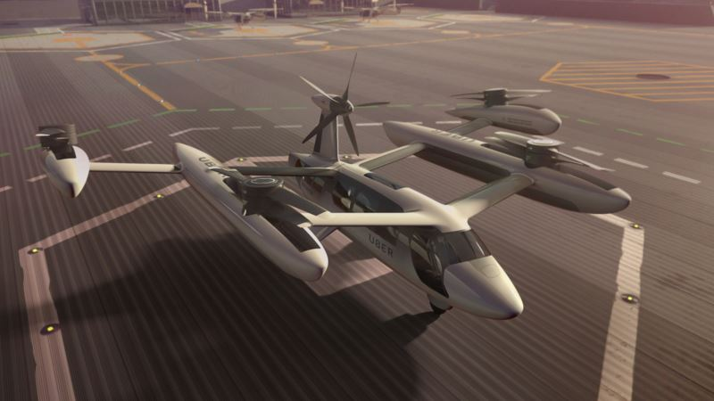 Uber, US Army To Test Quiet Aircraft Technology