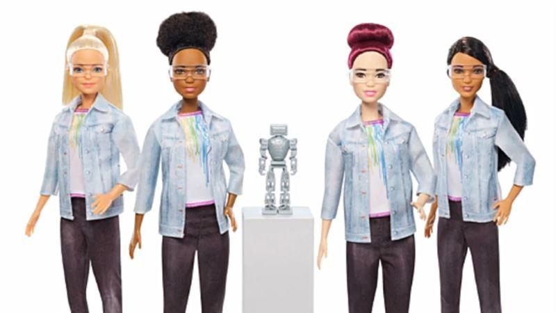 Robotics Engineer Barbie Joins Girls Who Code