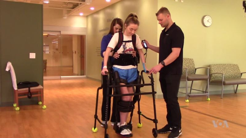 Advances in Exoskeleton Technology Could Help Some Walk Again